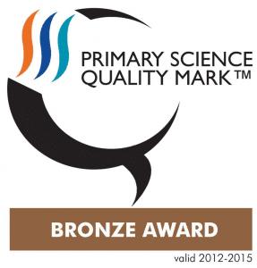 Primary Science Quality Mark Bronze